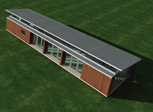 Prefabricated for Transportables haus